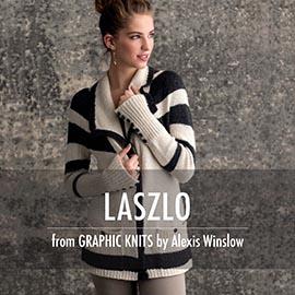 Graphic knit promo pictures laszlo