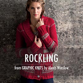 Graphic knit promo pictures rockling