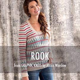 Graphic knit promo pictures rook
