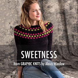 Graphic knit promo pictures sweetness