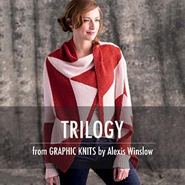 Graphic knit promo pictures trilogy