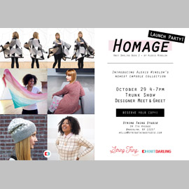 Homage party graphic launch 01
