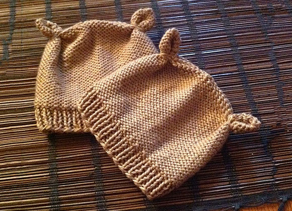 2 Hour Chipmunk Hat Pattern Knit Darling
