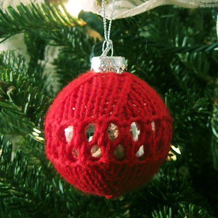 Ornament cozied web medium