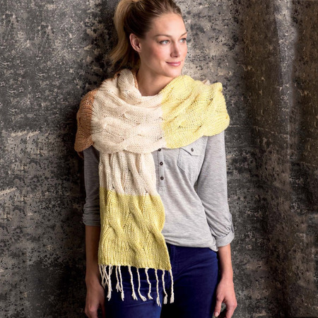 Graphic knits   bowerbird wrap beauty shot