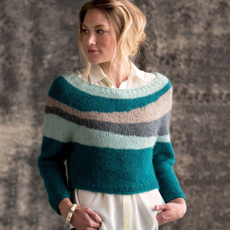 Graphic knits   burren pullover beauty shot