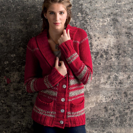 Graphic knits   rockling cardigan beauty shot