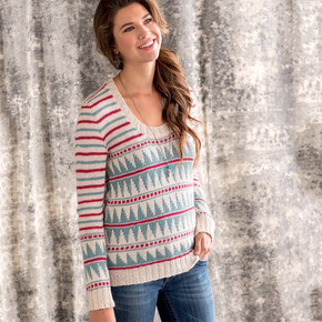 Graphic knits   rook pullover beauty shot
