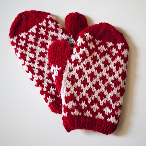 Meet The Mitsy Mittens Knit Darling