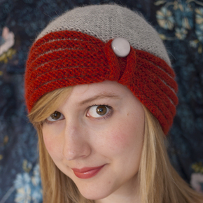 Free Knitting Pattern Baby Cloche Hat : Heads - Patterns - Knit Darling