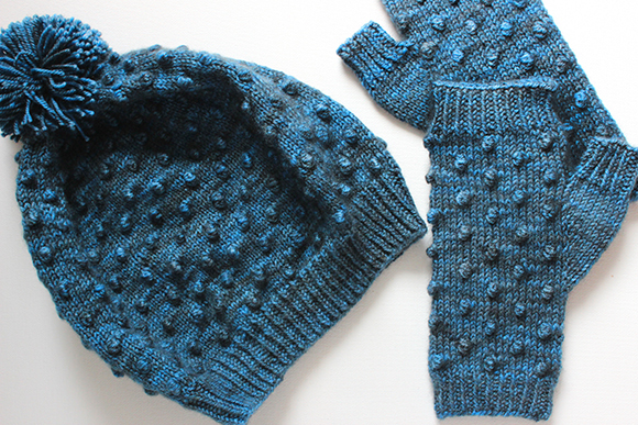 Meet The Zea Hat And Mitts Knit Darling